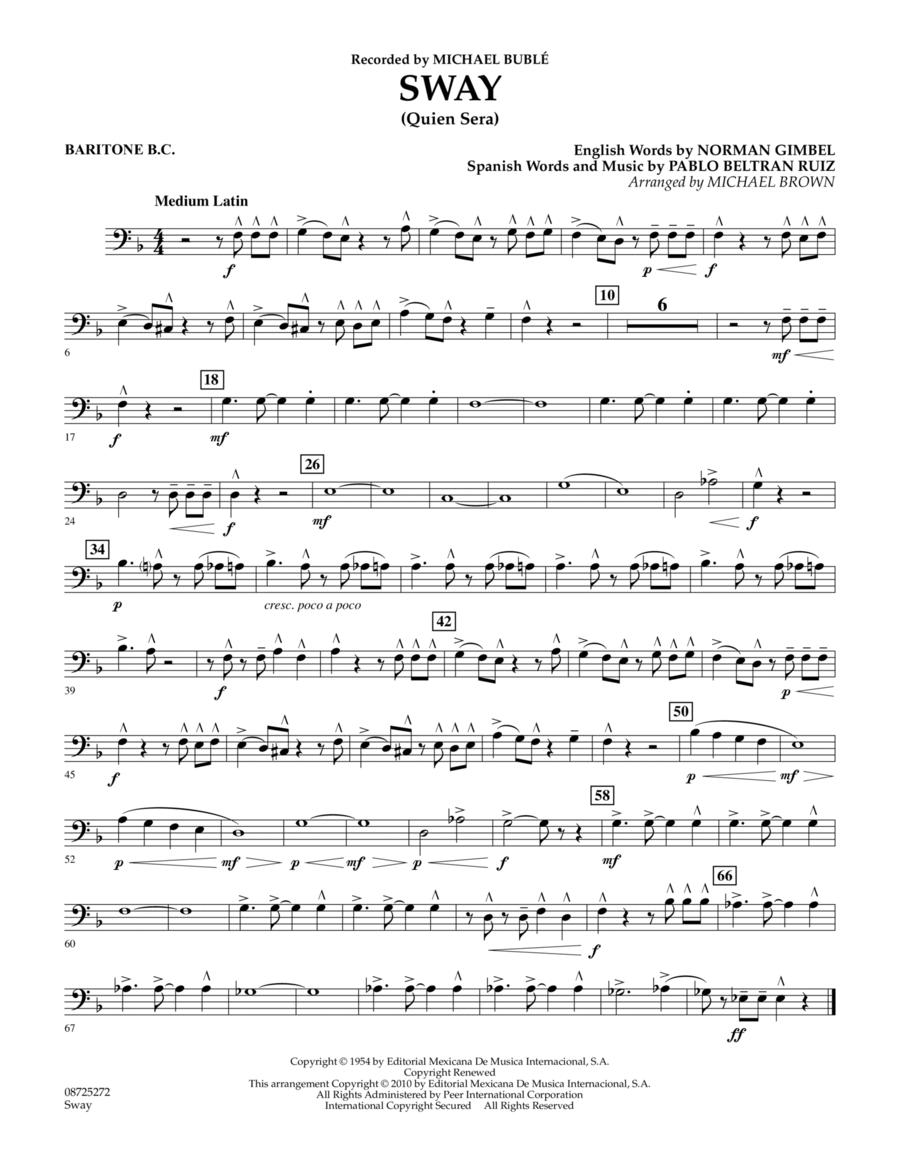 Sway (Quien Sera) - Baritone B.C.