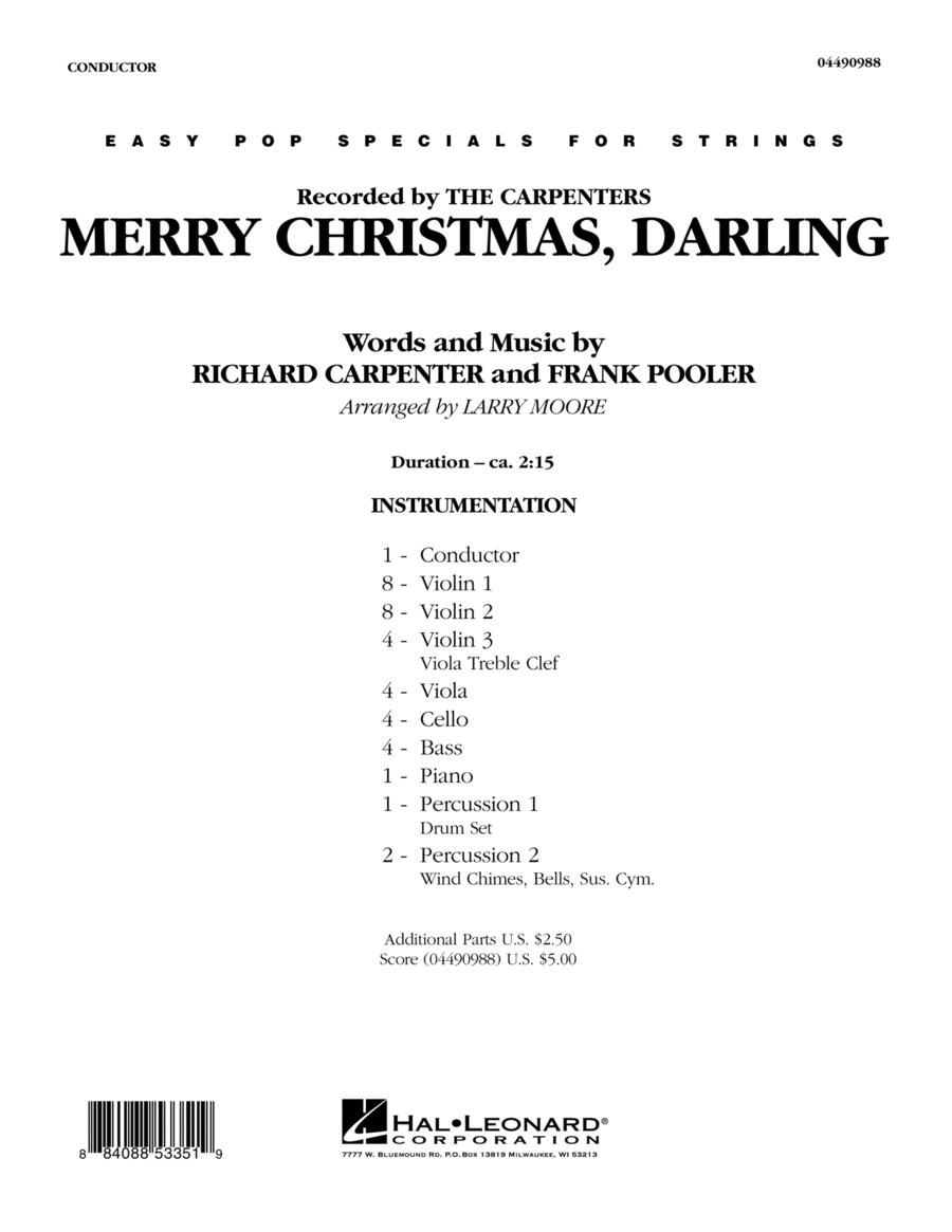 Merry Christmas, Darling - Full Score