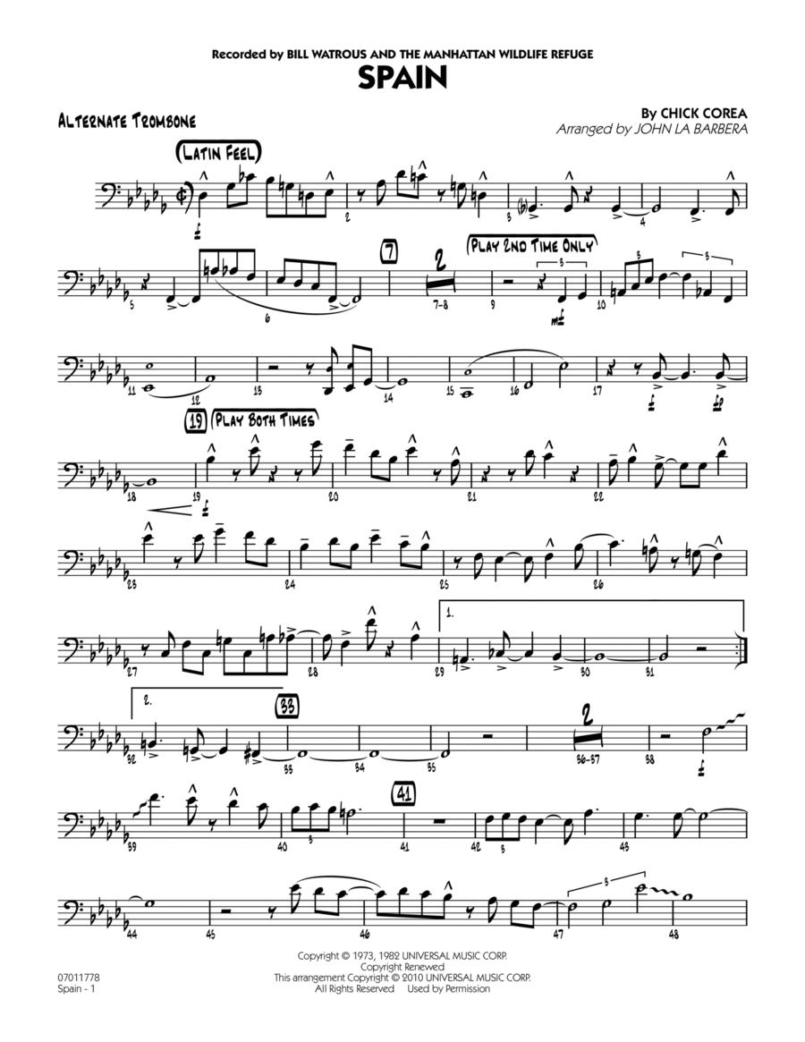 Spain - Alternate Trombone