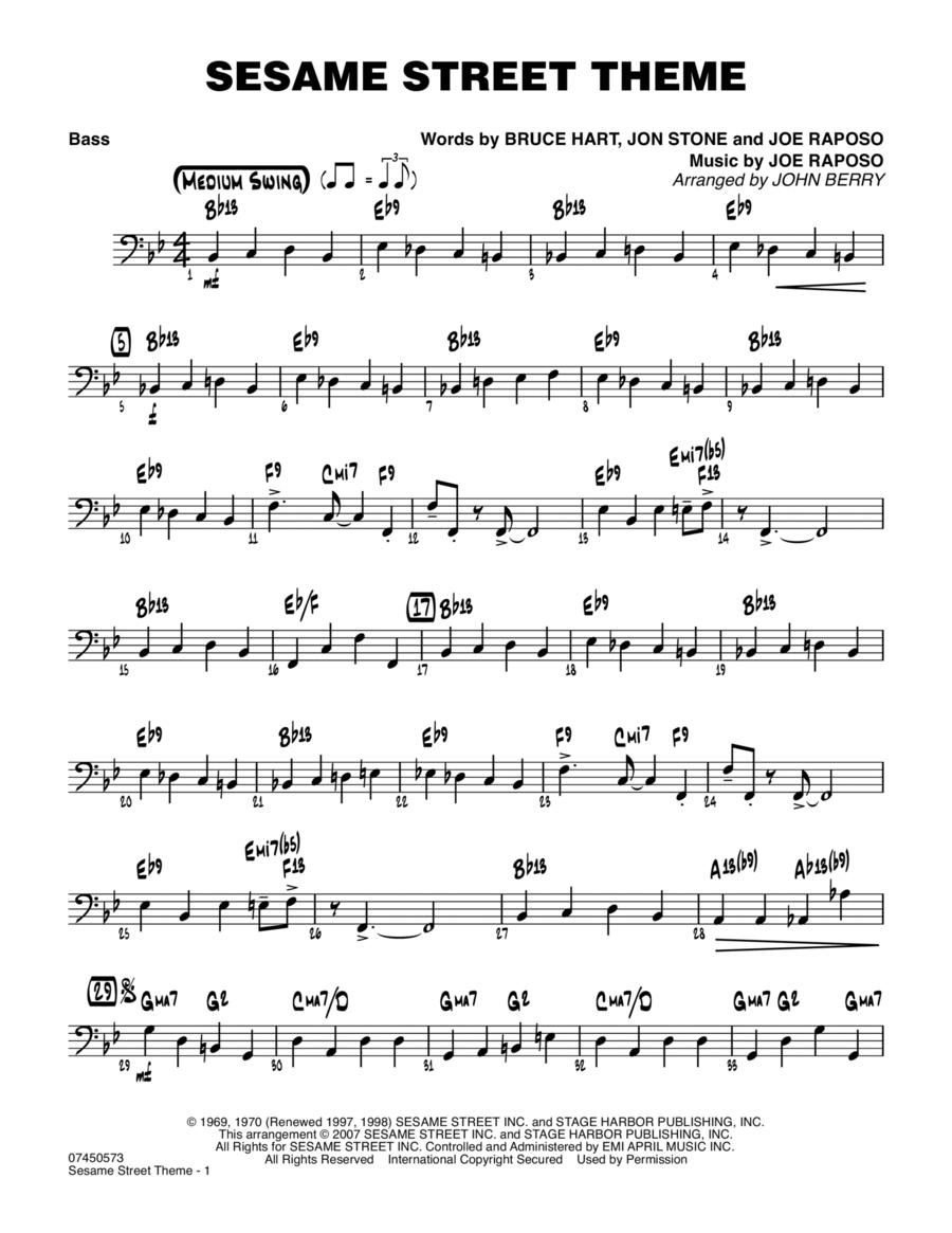Sesame Street Theme - Bass