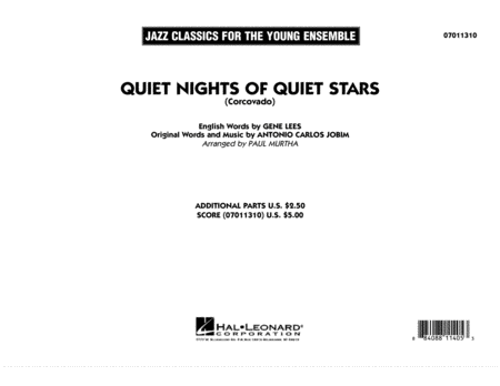 Quiet Nights Of Quiet Stars (Corcovado) - Full Score