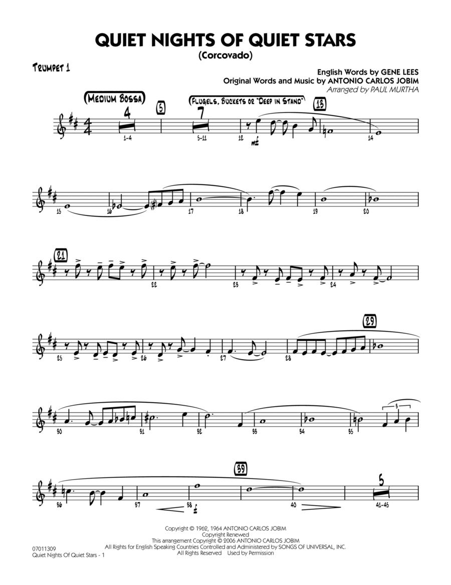 Quiet Nights Of Quiet Stars (Corcovado) - Trumpet 1