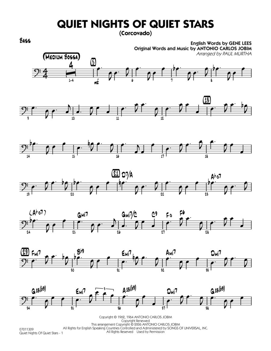 Quiet Nights Of Quiet Stars (Corcovado) - Bass