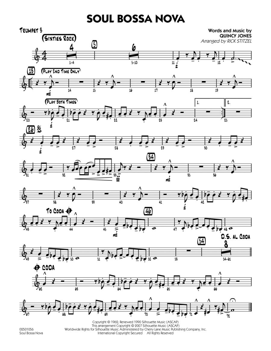 Soul Bossa Nova - Trumpet 3
