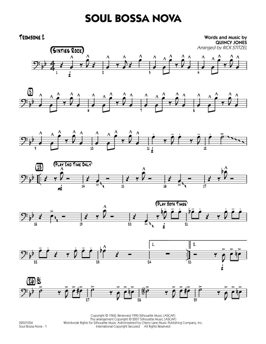Soul Bossa Nova - Trombone 2