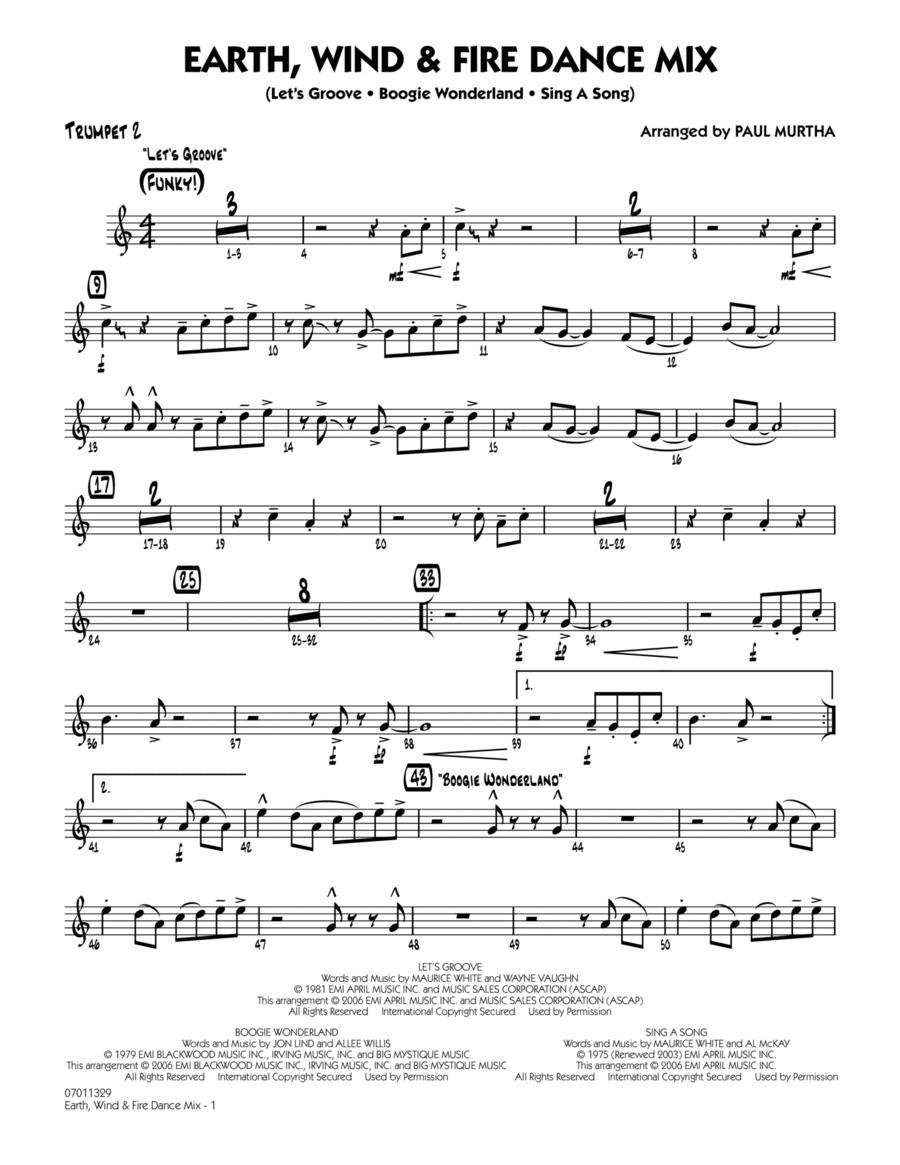 Earth, Wind & Fire Dance Mix - Trumpet 2