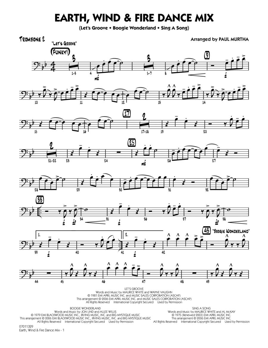 Earth, Wind & Fire Dance Mix - Trombone 2
