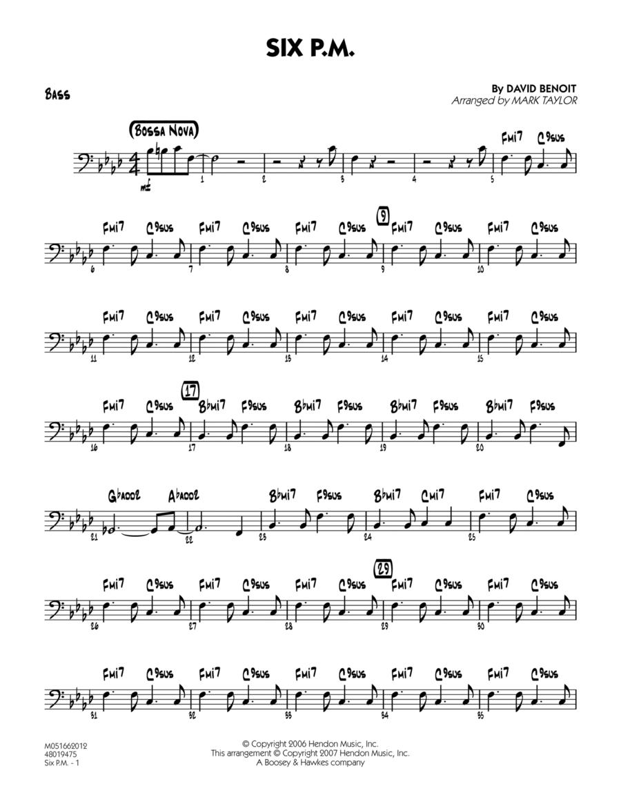 Six P.M. - Bass