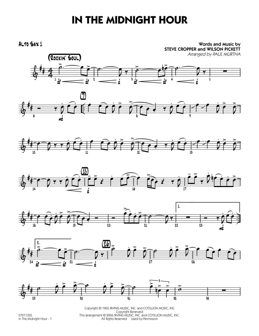 In The Midnight Hour - Alto Sax 1