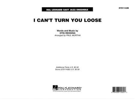 I Can't Turn You Loose - Full Score