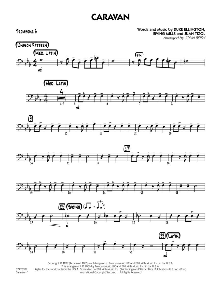 Caravan - Trombone 3