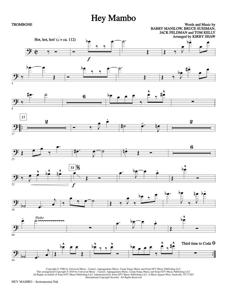 Hey Mambo - Trombone