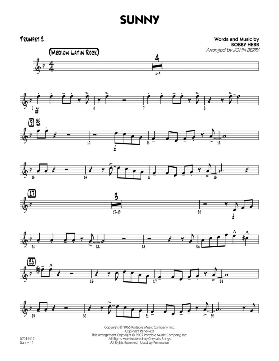Sunny - Trumpet 2