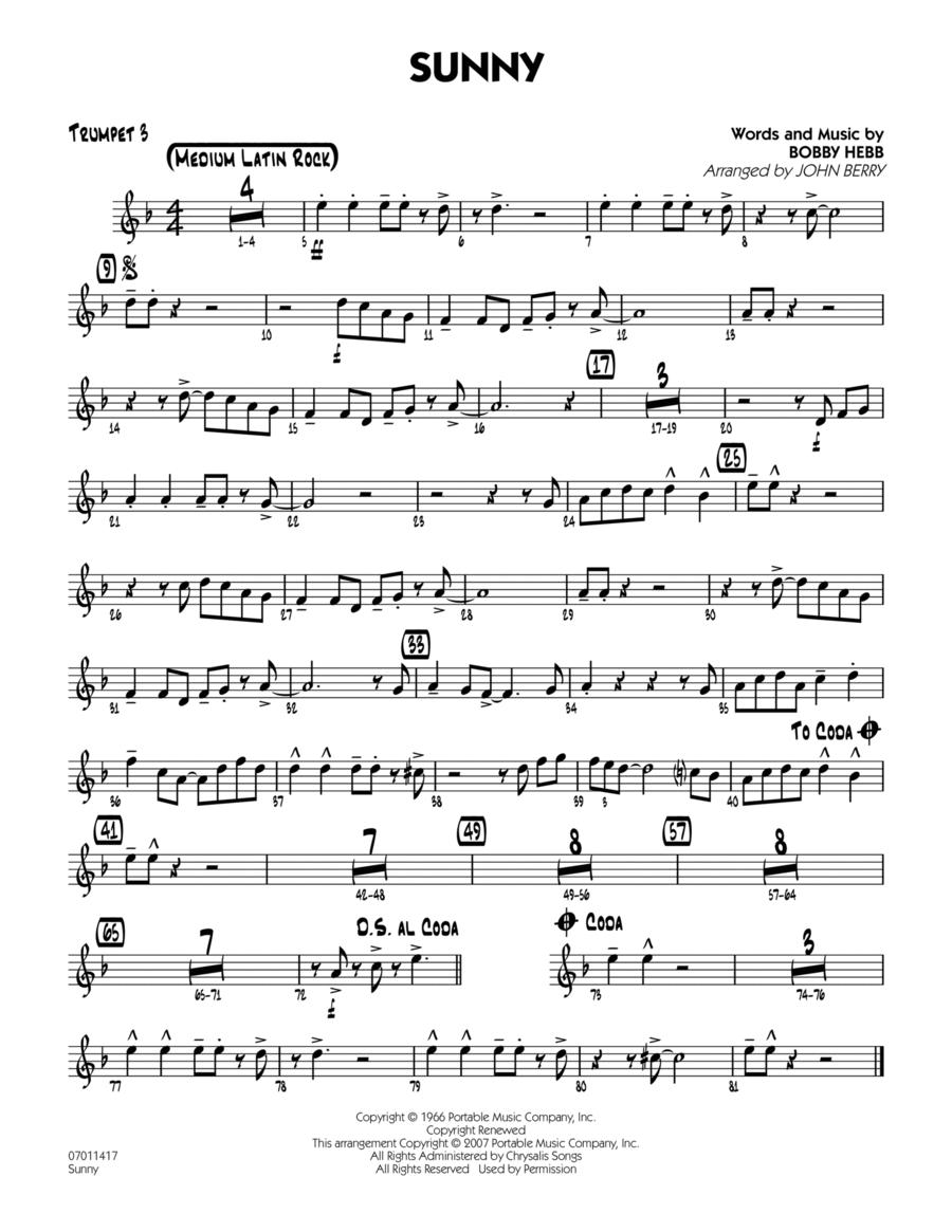 Sunny - Trumpet 3