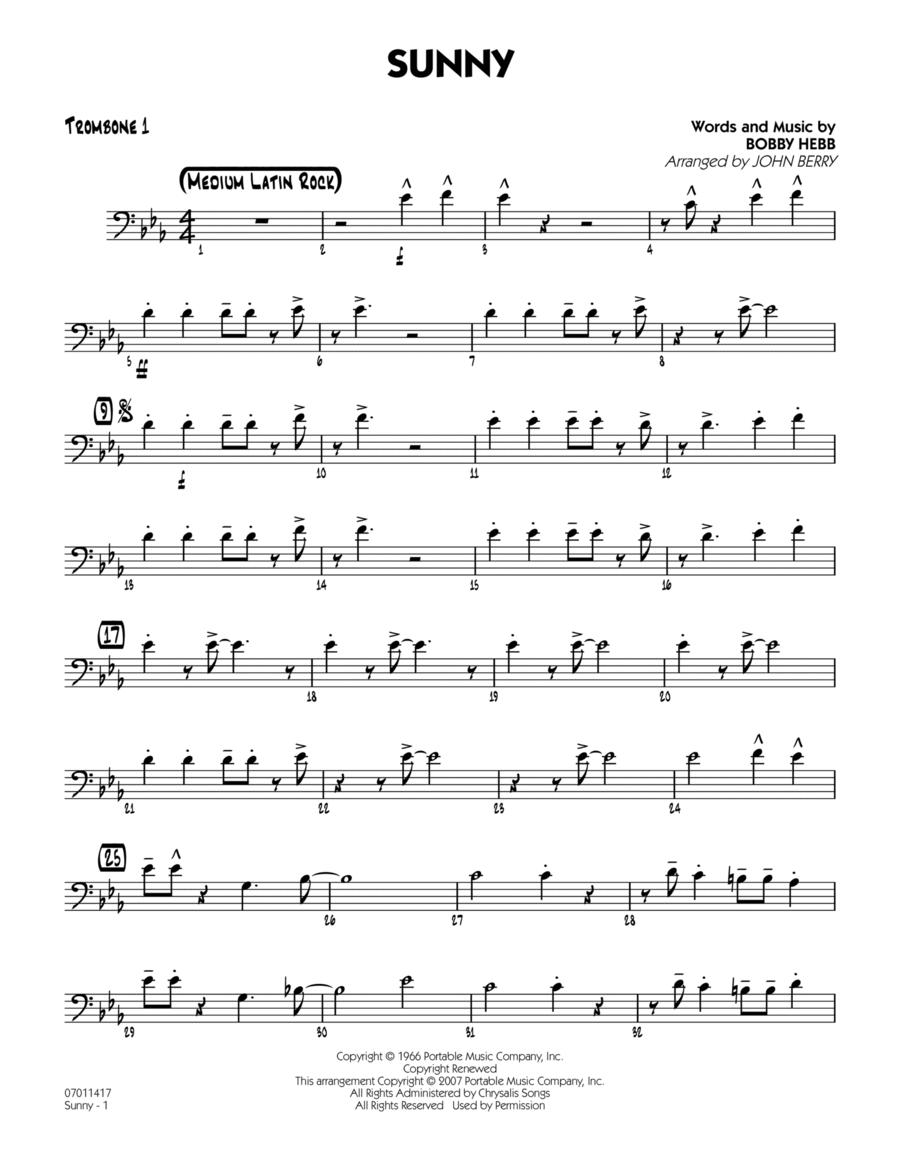 Sunny - Trombone 1