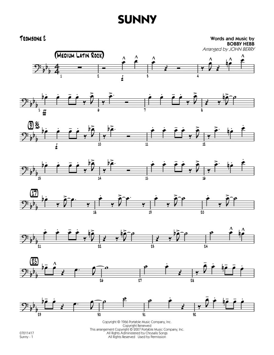 Sunny - Trombone 2