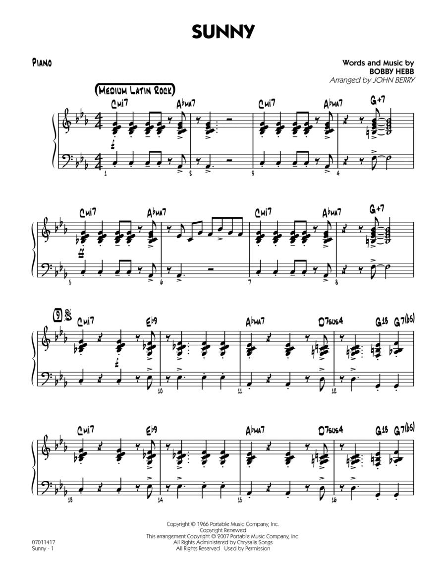 Sunny - Piano
