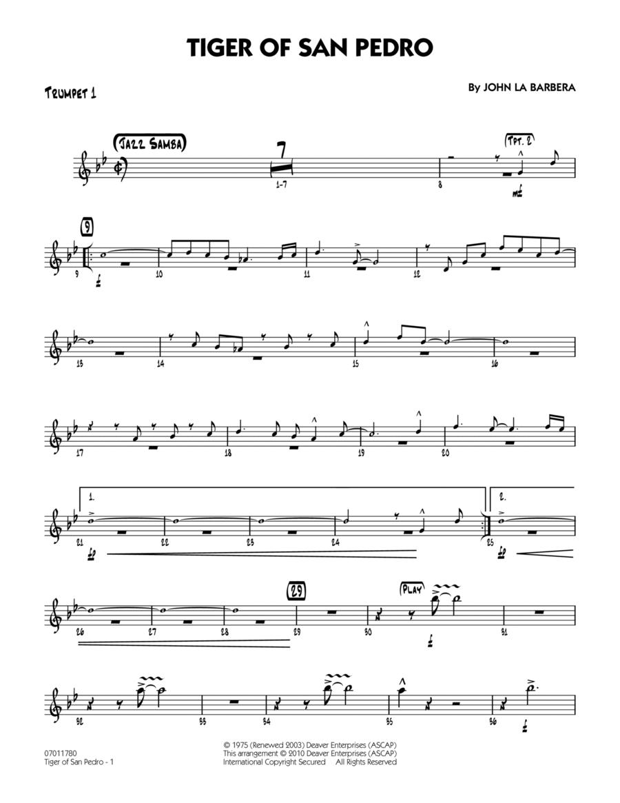 Tiger Of San Pedro - Trumpet 1