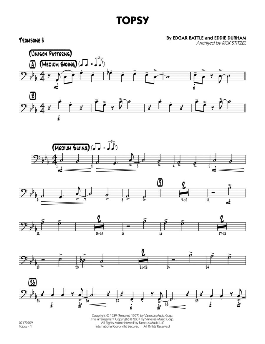 Topsy - Trombone 3