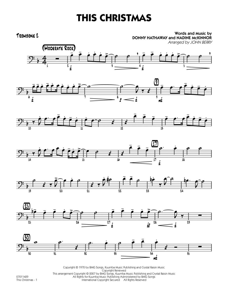 This Christmas - Trombone 2