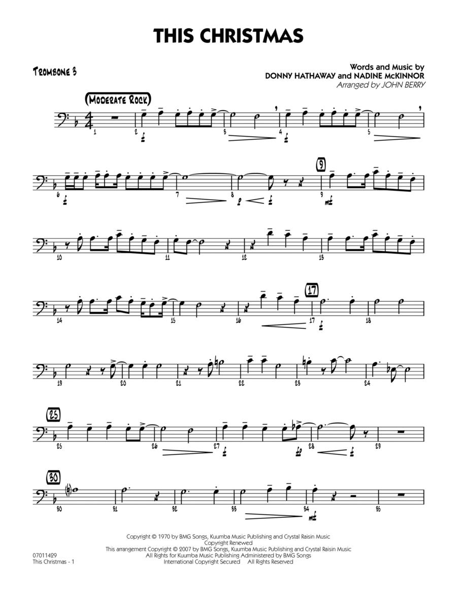 This Christmas - Trombone 3