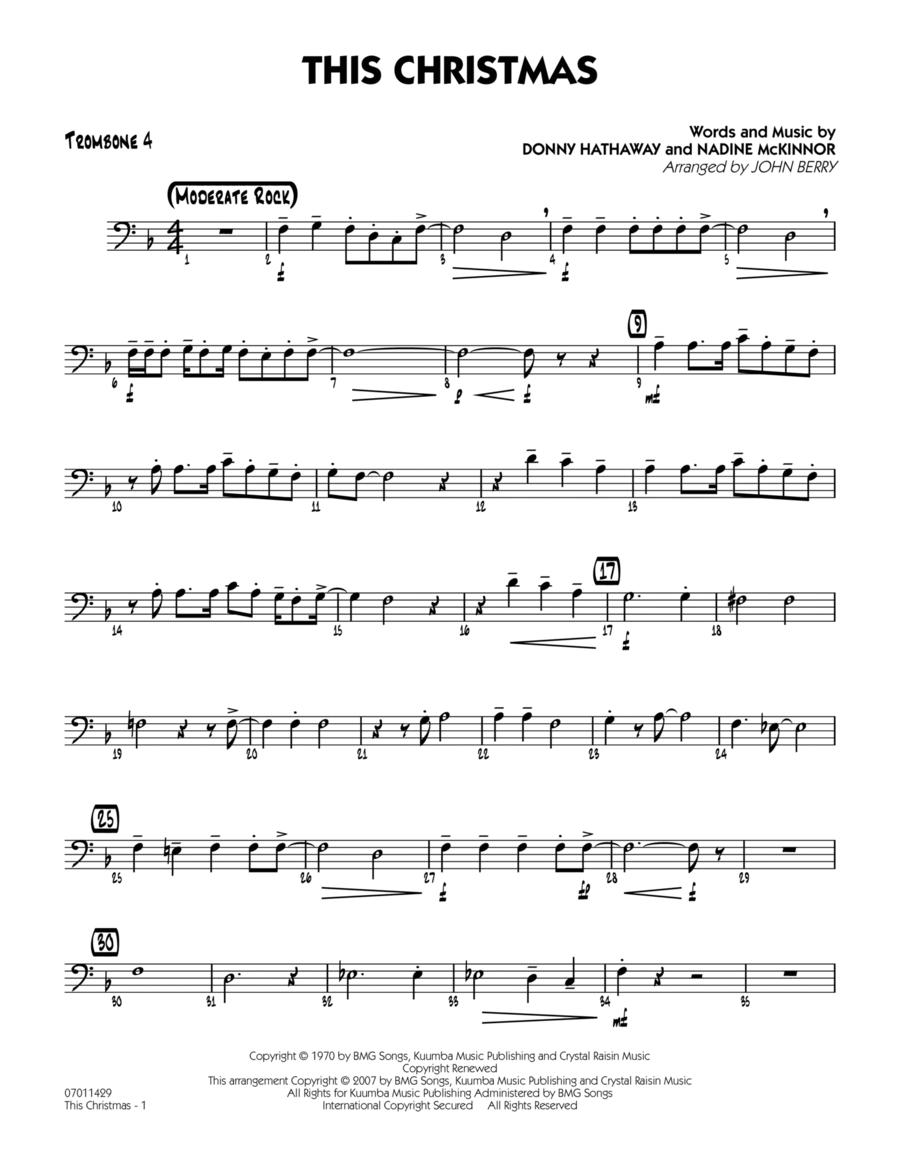 This Christmas - Trombone 4