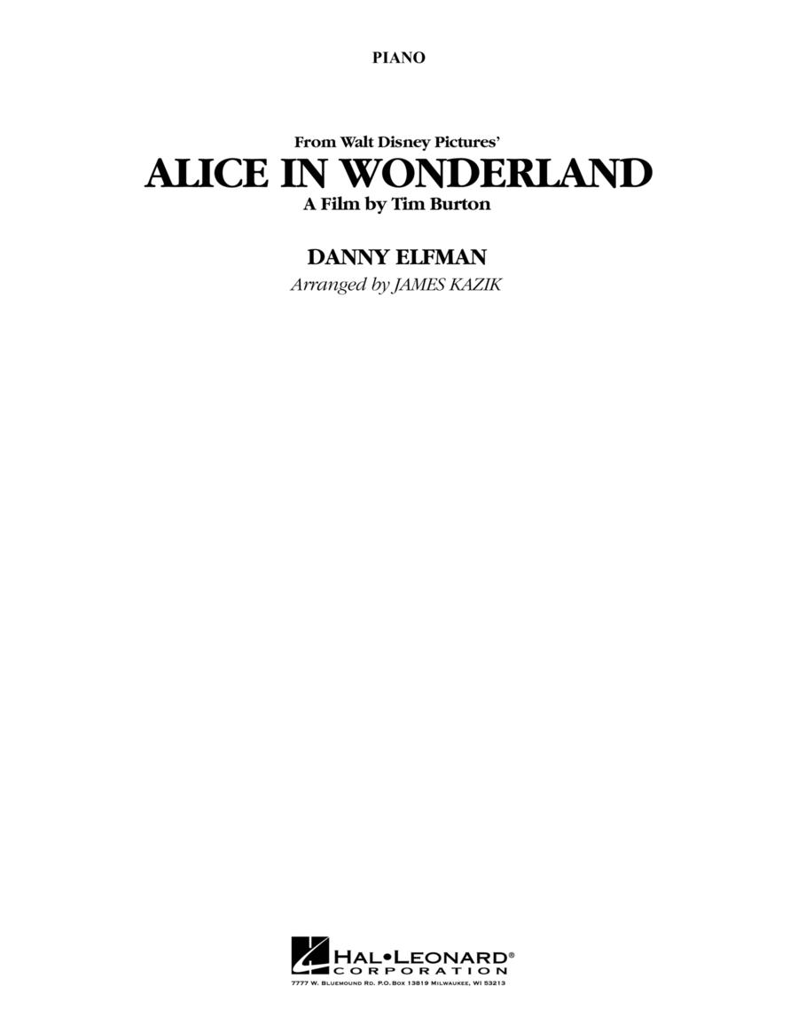 Alice In Wonderland - Piano