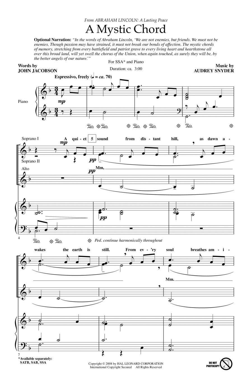 A Mystic Chord