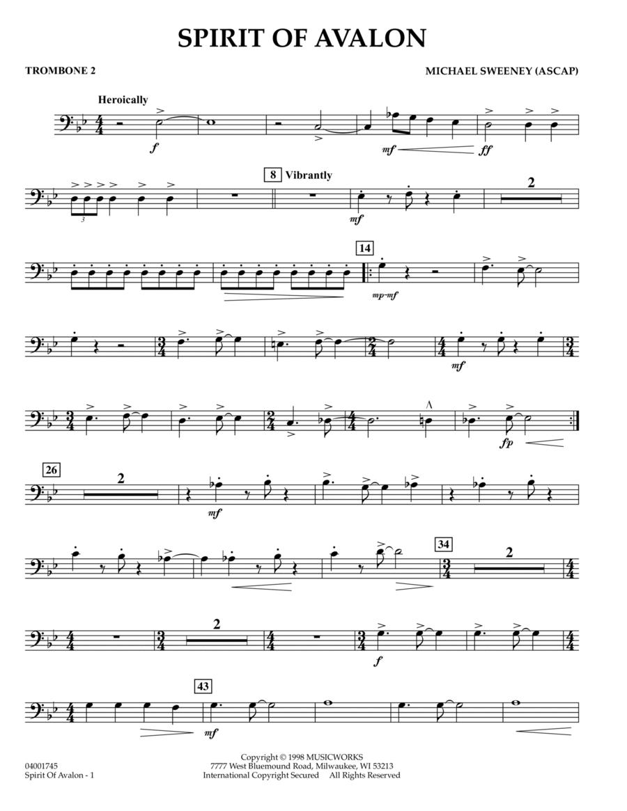 Spirit Of Avalon - Trombone 2