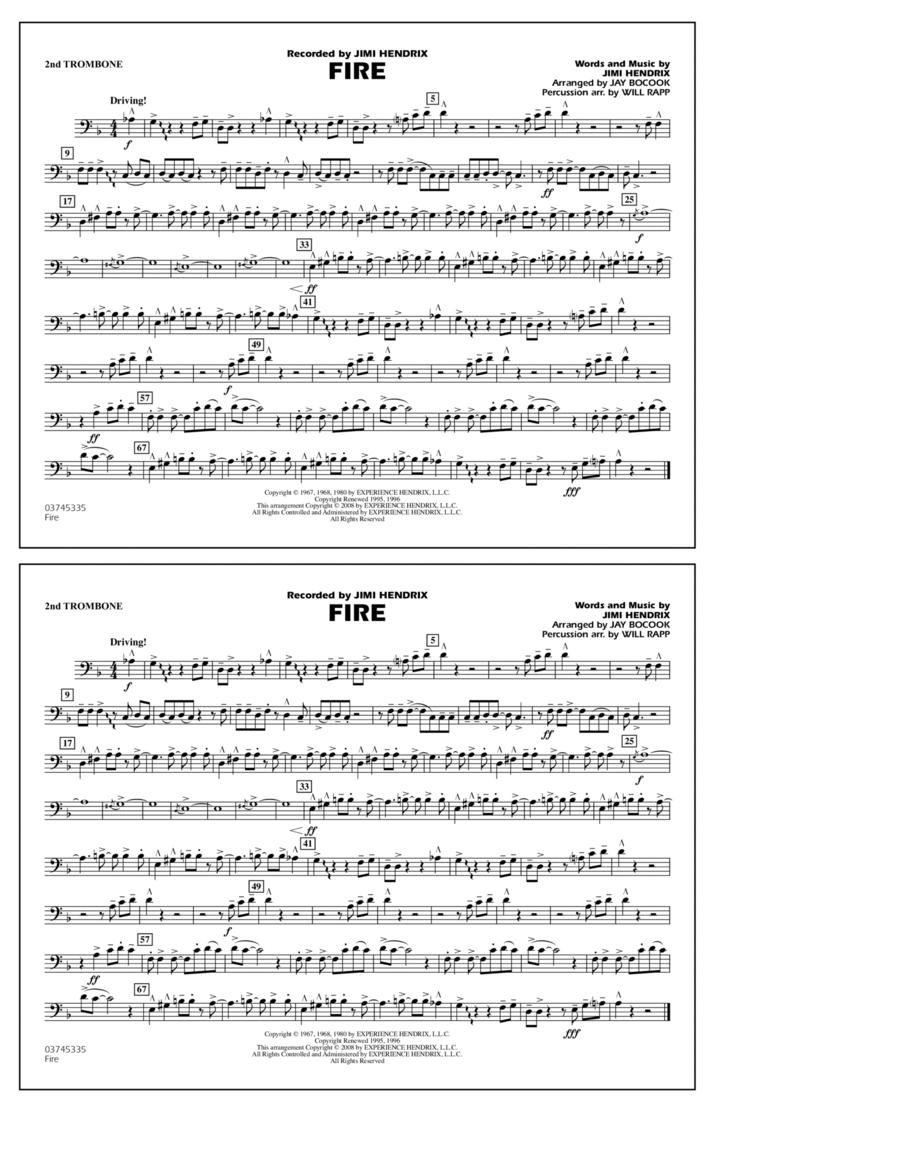 Fire - 2nd Trombone