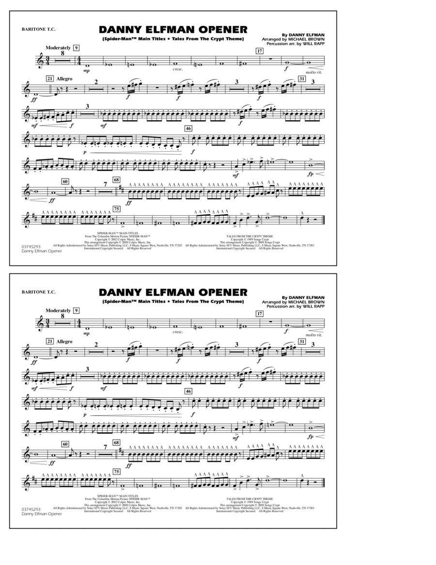 Danny Elfman Opener - Baritone T.C.