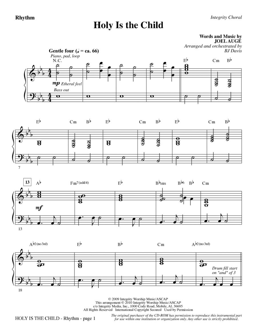 Holy Is The Child - Rhythm