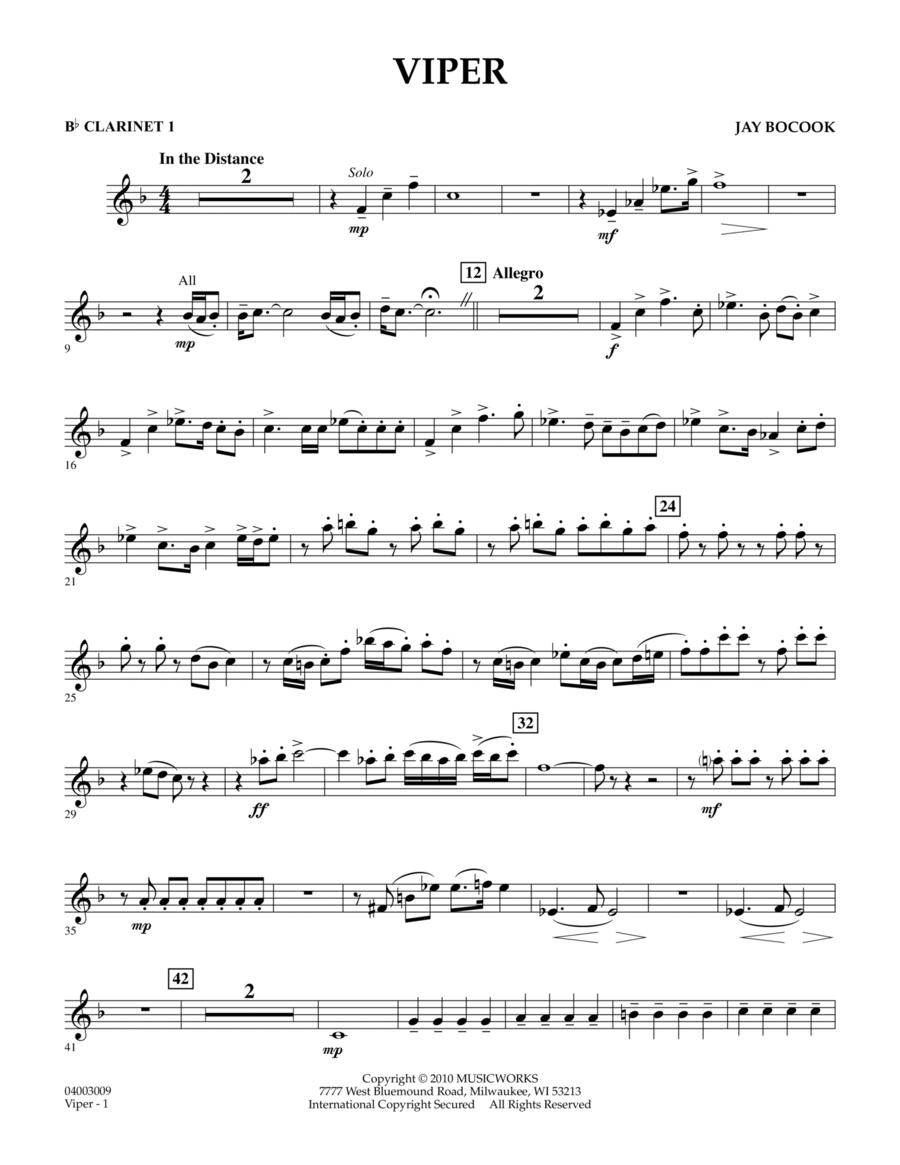 Viper - Bb Clarinet 1