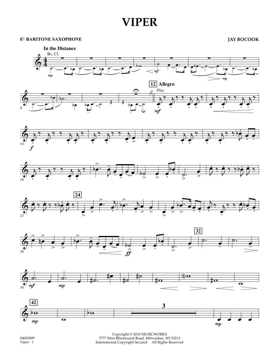 Viper - Eb Baritone Saxophone