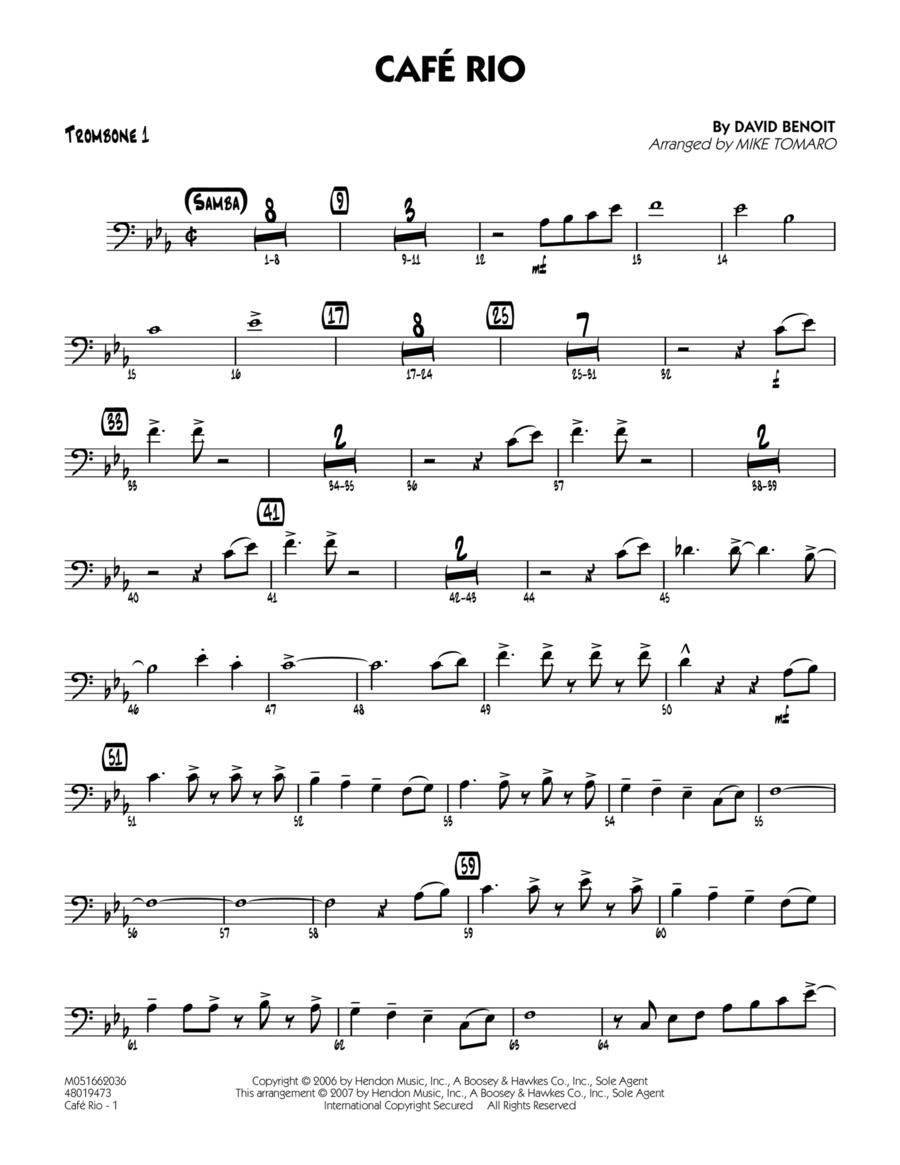 Cafe Rio - Trombone 1