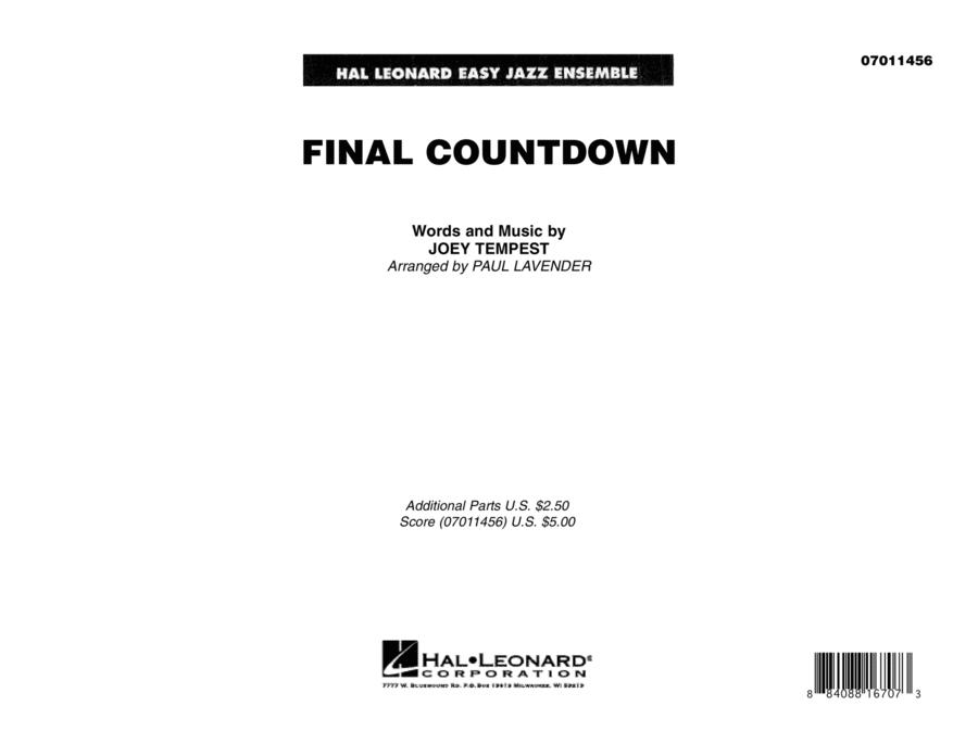 Final Countdown - Full Score