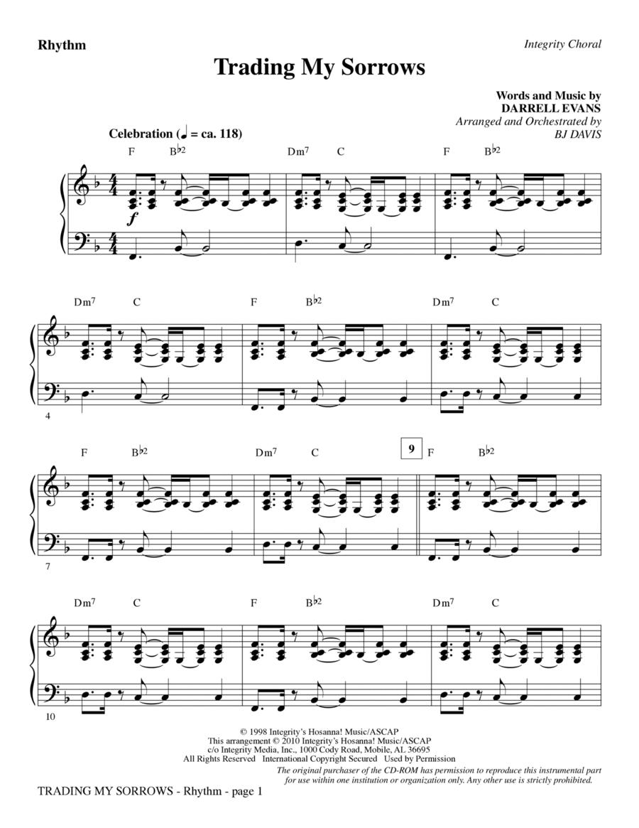 Trading My Sorrows - Rhythm