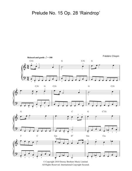 Prelude No. 15, Op. 28 (Raindrop)