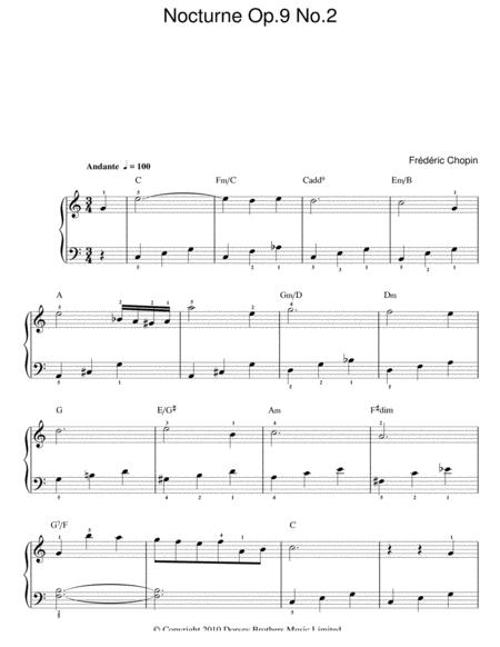 Nocturne in Eb Major, Op. 9, No. 2