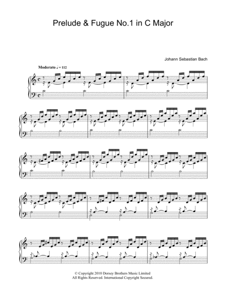 Prelude And Fugue in C
