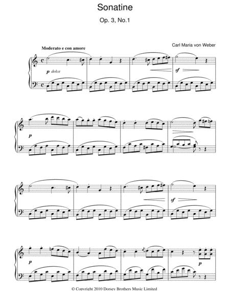 Sonatine, Op. 3, No. 1