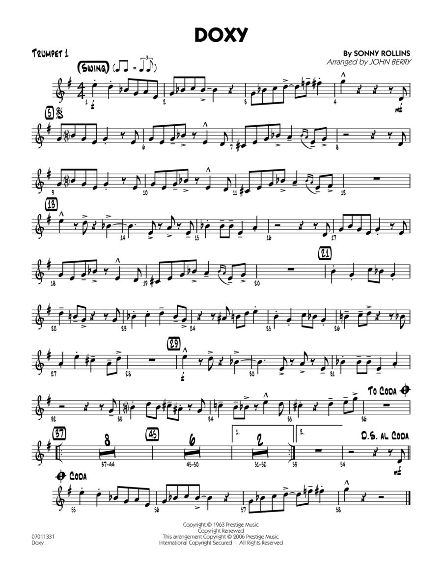 Doxy - Trumpet 1