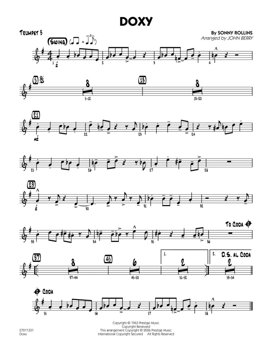 Doxy - Trumpet 3