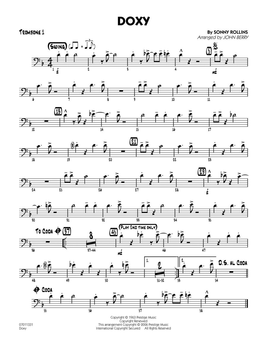 Doxy - Trombone 1
