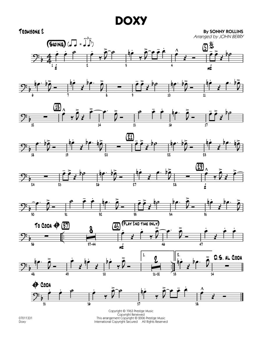 Doxy - Trombone 2