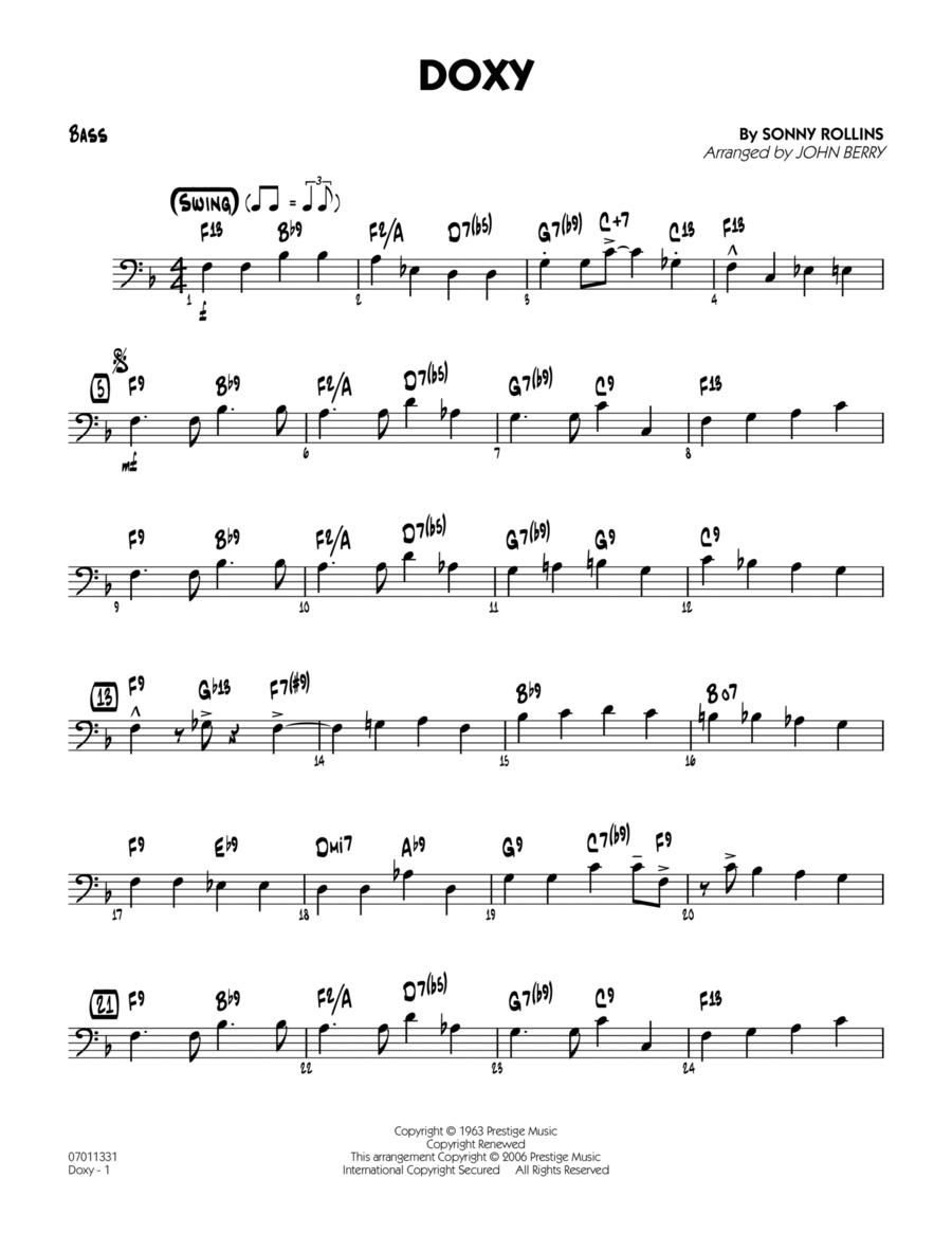 Doxy - Bass