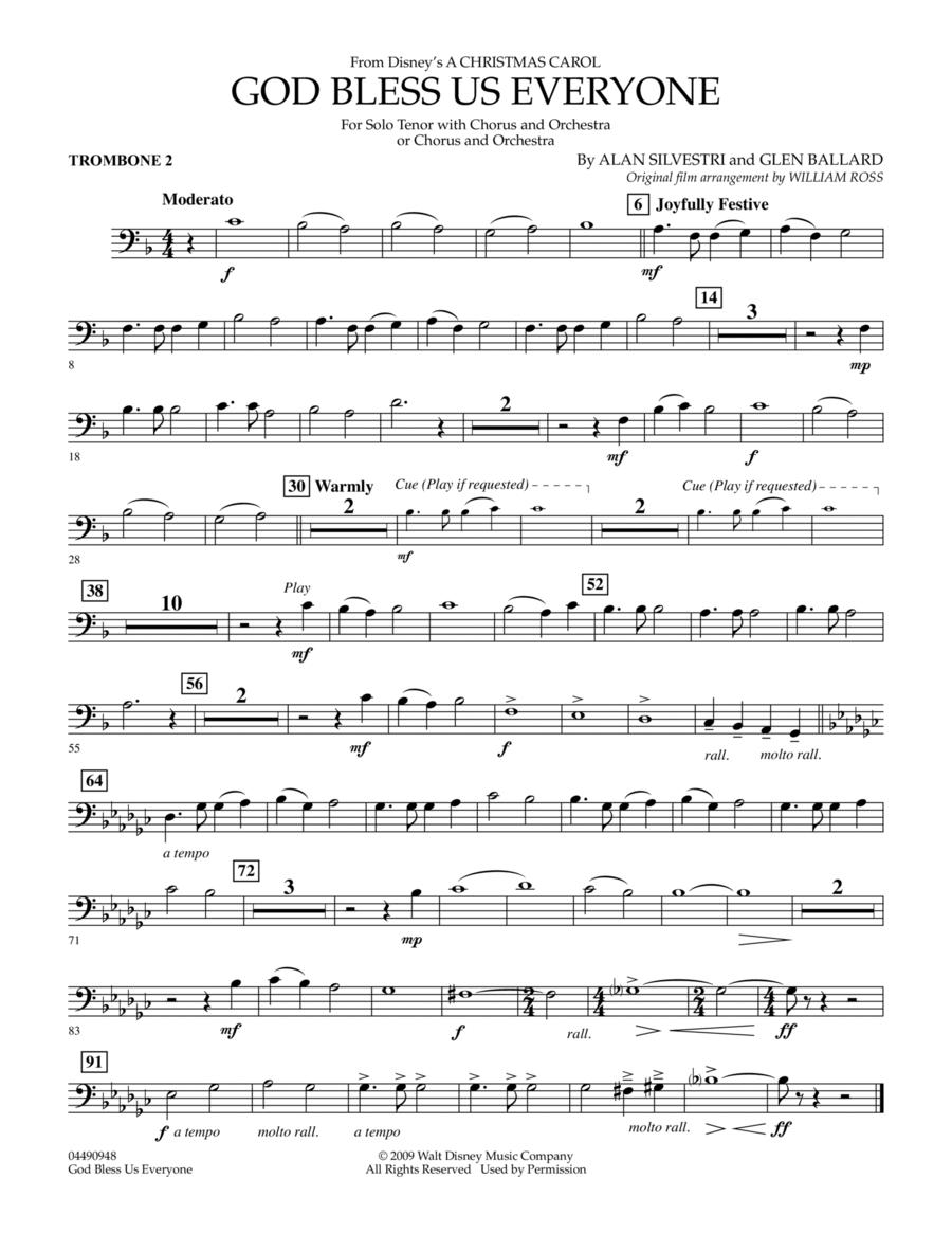 God Bless Us Everyone - Trombone 2