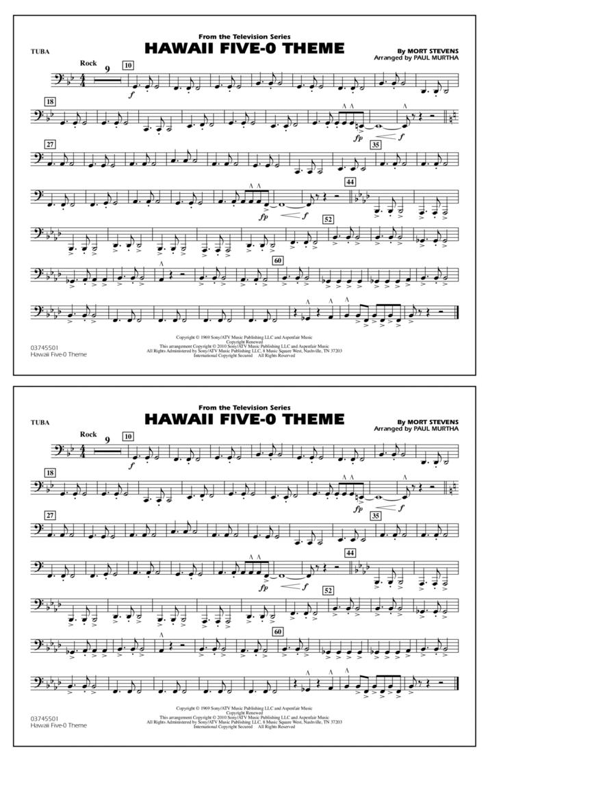 Hawaii Five-O Theme - Tuba