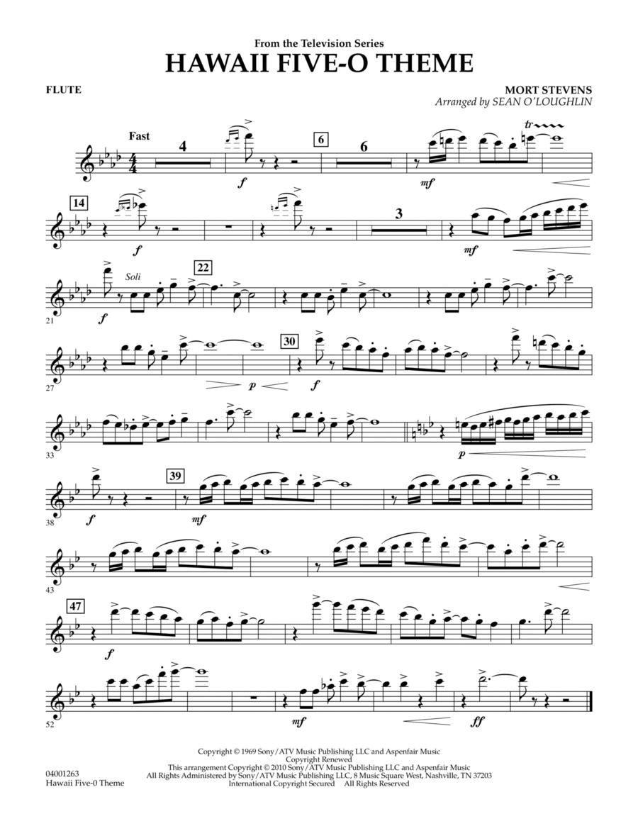 Hawaii Five-O Theme - Flute