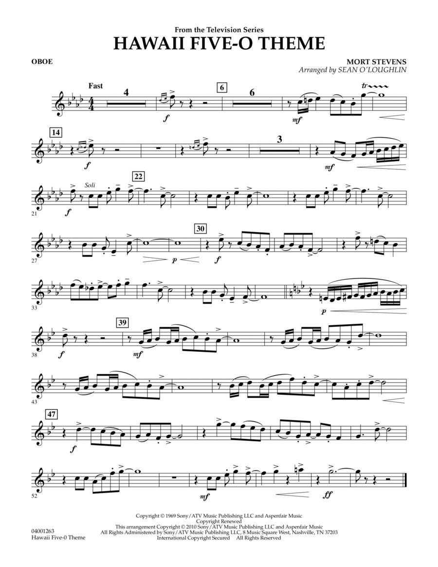 Hawaii Five-O Theme - Oboe